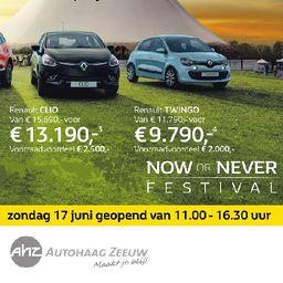 Renault Twingo nú €9.790,-