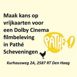 Vrijkaarten voor Dolby Cinema
