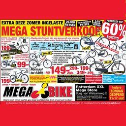 Nu tot 60% korting op fietsen